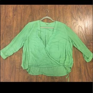 Designer blouse by Young fabulous and broke